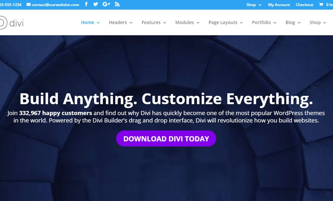 WordPress Divi Theme Review – A Powerful Multipurpose Theme