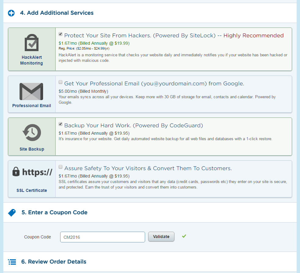 HostGator WordPress Setup Step 3